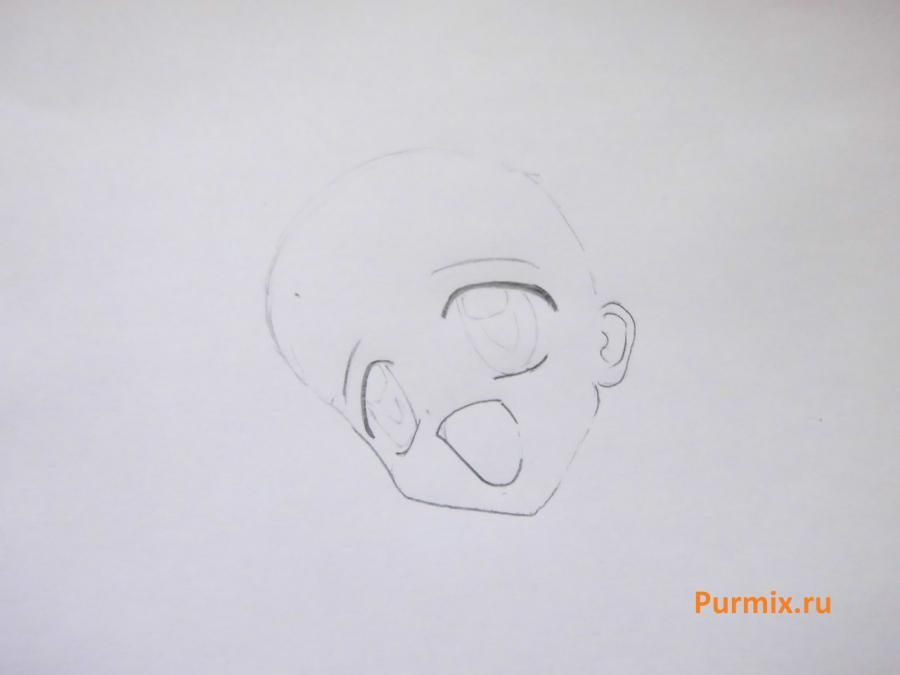 How to draw Dzyun Yamamoto from an anime with Spetsklass