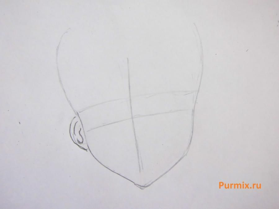 How to draw Kaye Takisima from an anime from Spetsklass