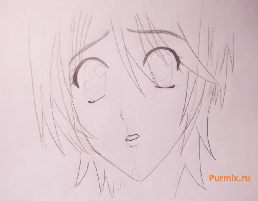 How to draw Megumi Yamamoto from an anime of S  4