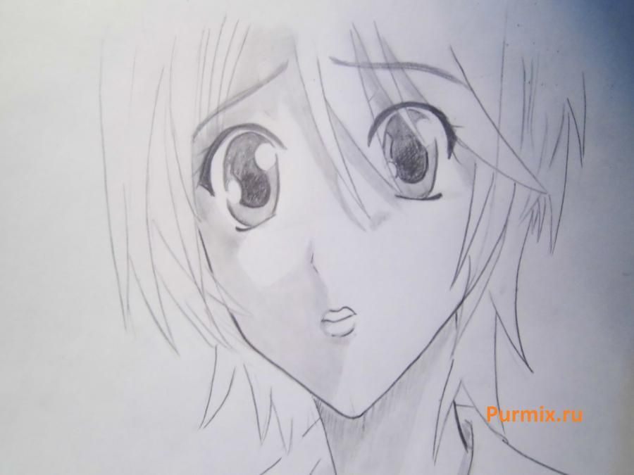 How to draw Megumi Yamamoto from an anime of S  6