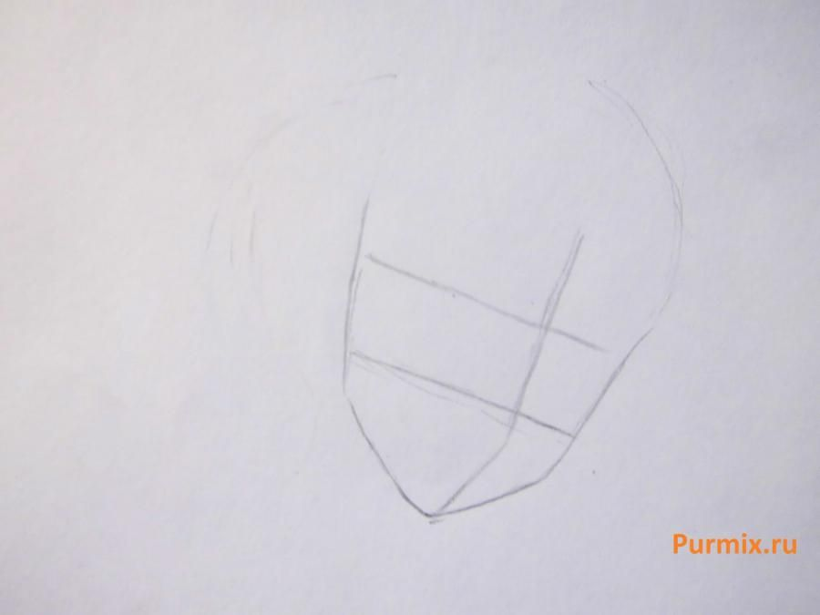 How to draw Yukari Sendo from Rosario + the Vampire with a simple pencil 2