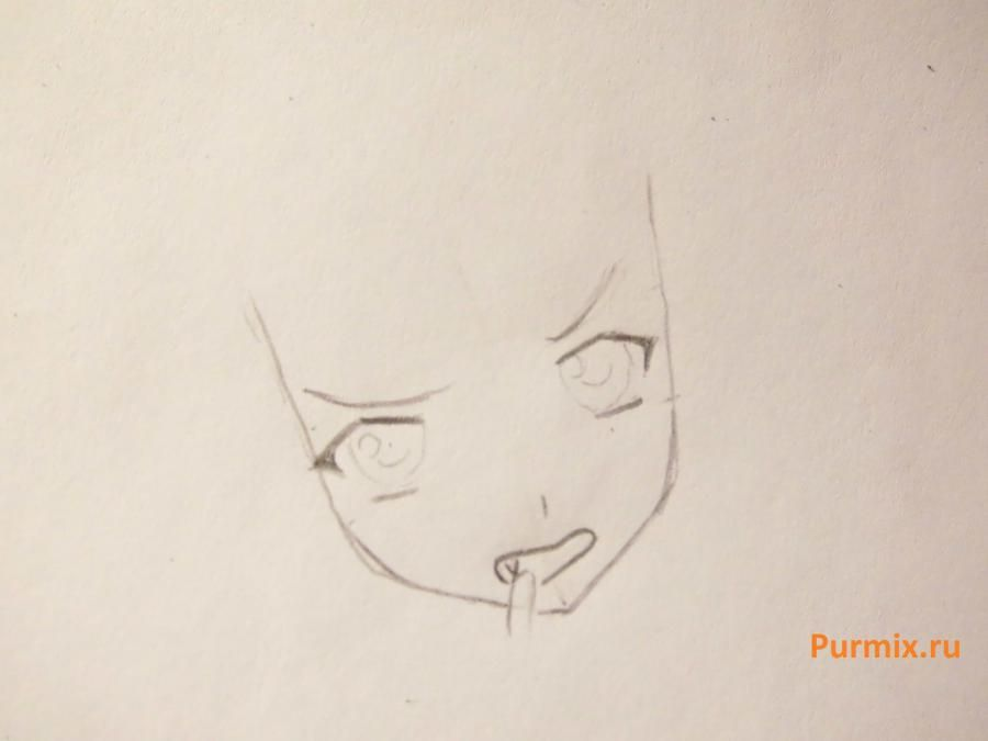 We learn to draw Sidzuka Nekonome from Rosario's anime + the Vampire a pencil 3