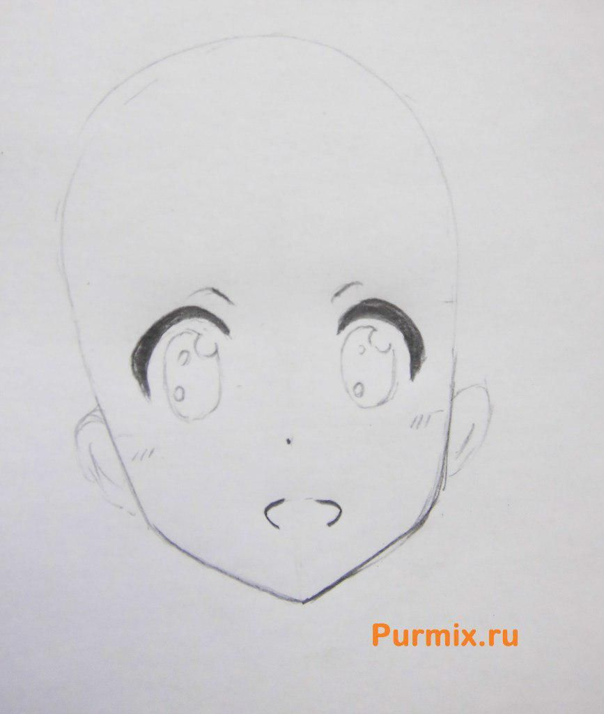 How to draw Dziro Motidzuki from an anime the Brotherhood of black blood 3