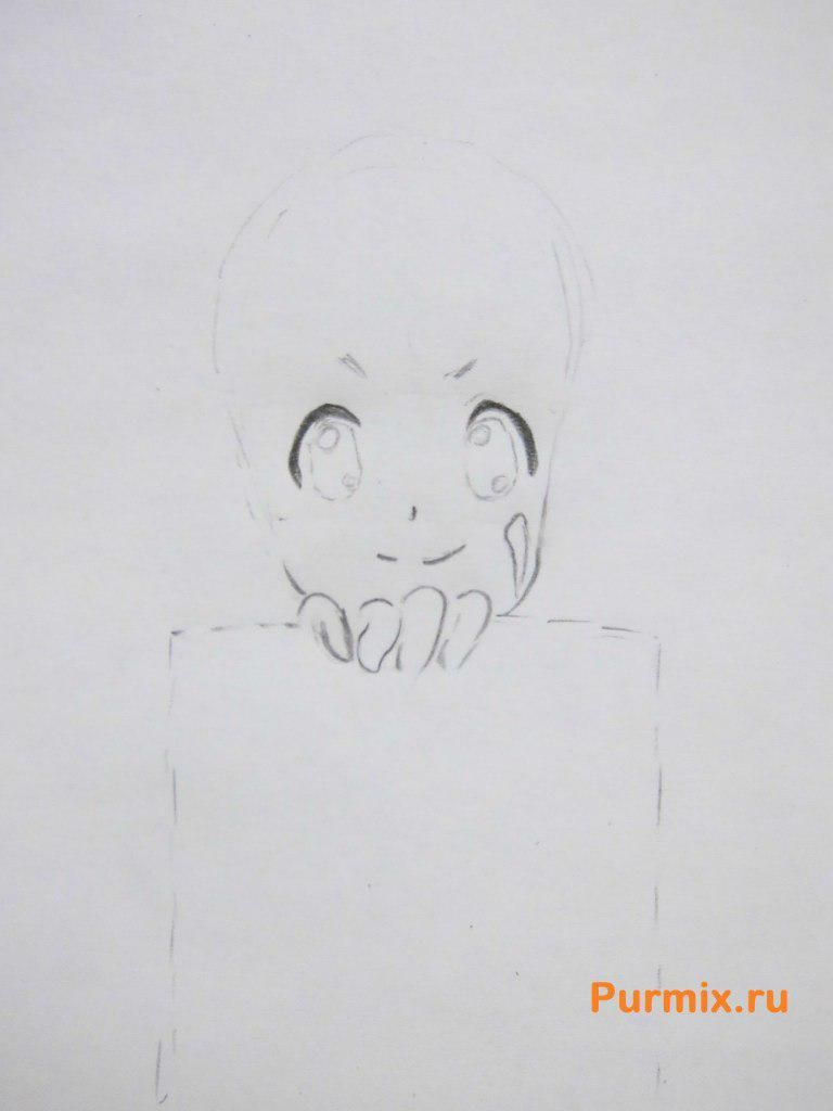 How to draw Silika from an anime the Master throwing online a pencil 3