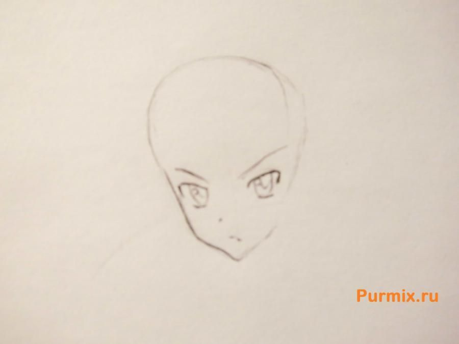 How to draw Xiu Sakamaki from Devil beloved with a pencil 3