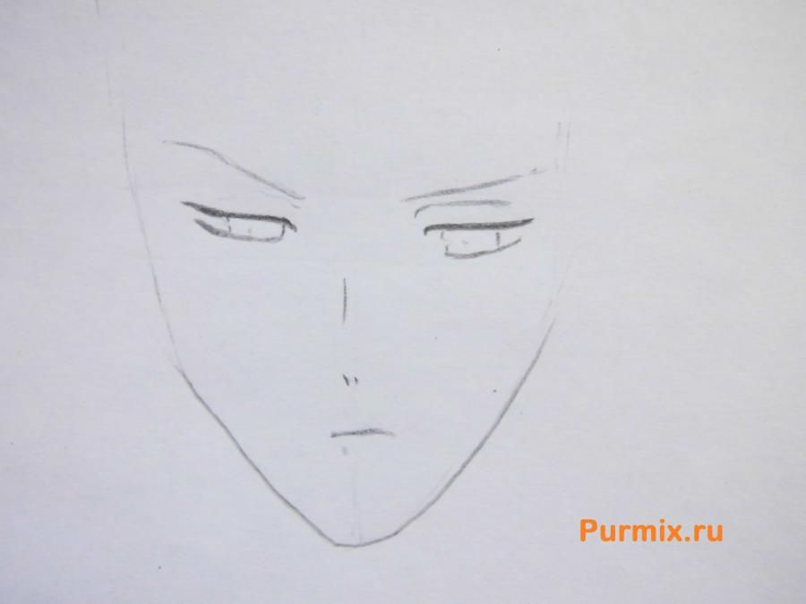 How to draw Yu Komori from an anime Devil beloved 2