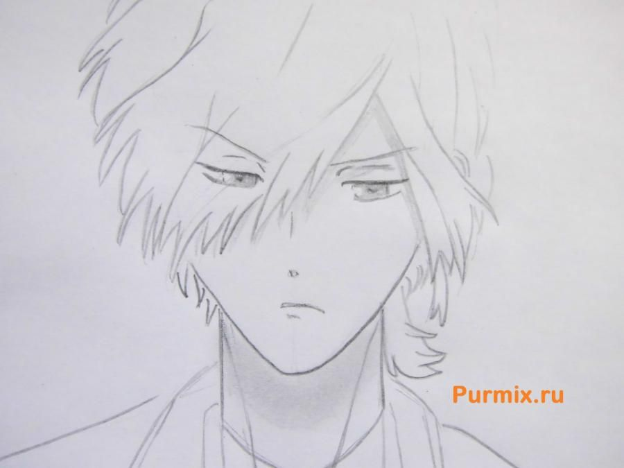 How to draw Yu Komori from an anime Devil beloved 5