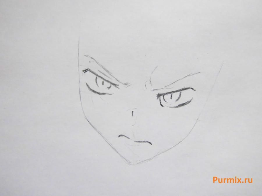 How to draw Kagome Higurasi from an anime the Dog the demon keeper 3