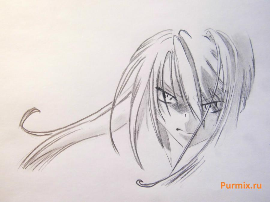 How to draw Kagome Higurasi from an anime the Dog the demon keeper 4