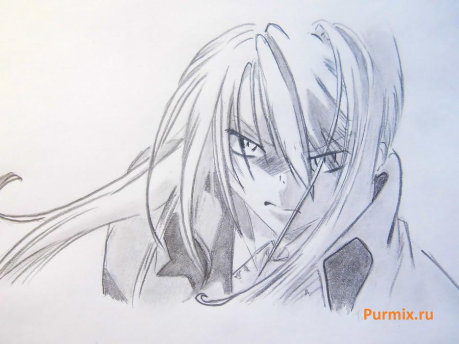 How to draw Kagome Higurasi from an anime the Dog the demon keeper 5