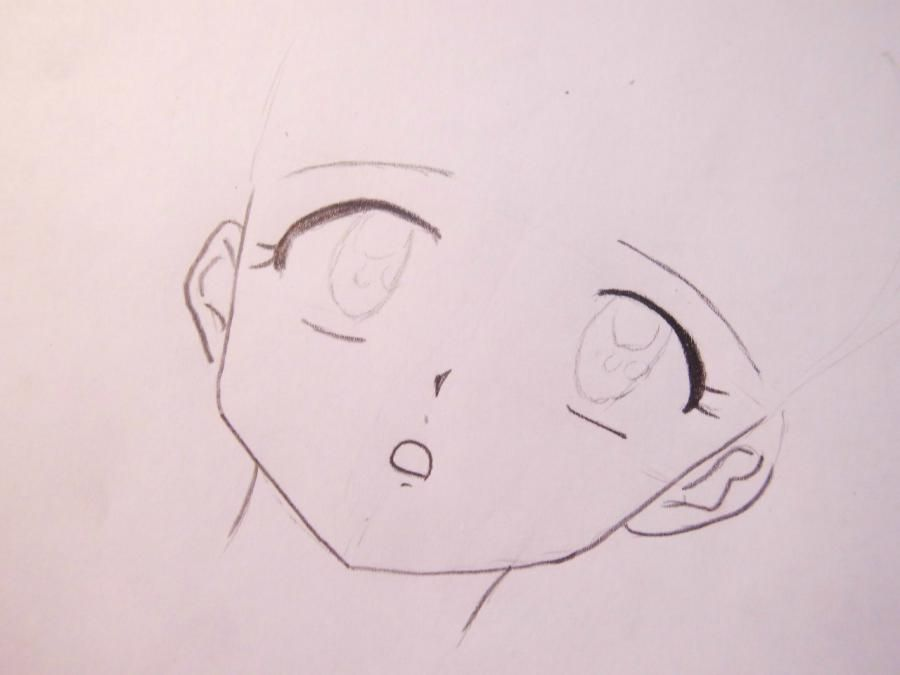 how to draw tomoki kuroki from an anime of watamote with a pencil 3