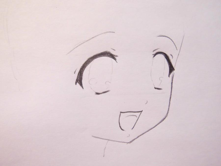 How to draw to Haque from an anime Carried away by ghosts a pencil 3