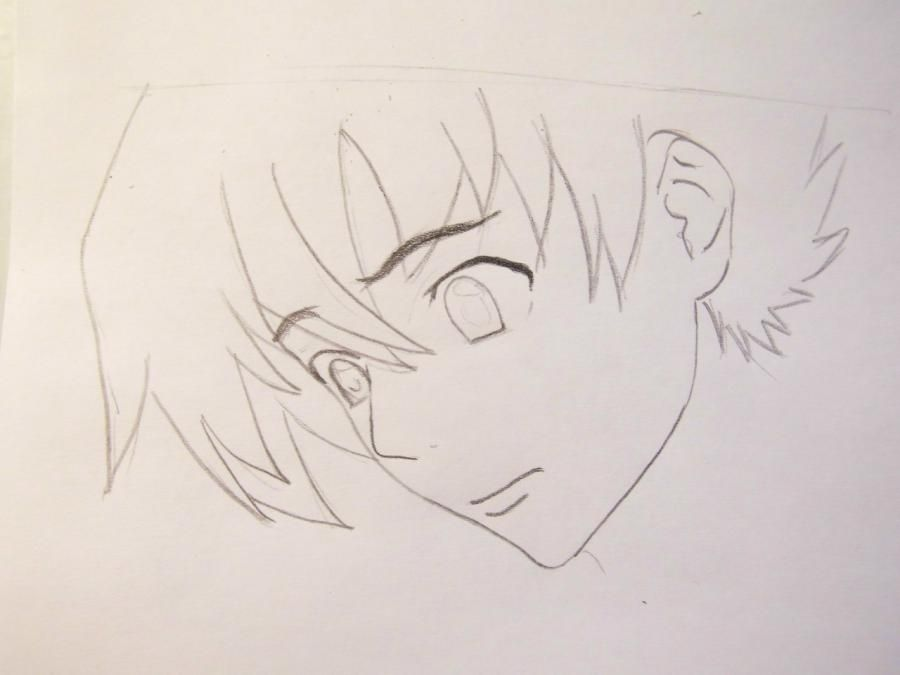 How to draw Kotoko Aikhar's portrait from an anime the Naughty kiss 3