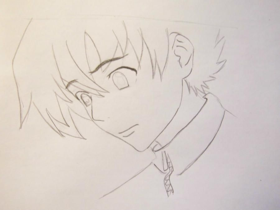 How to draw Kotoko Aikhar's portrait from an anime the Naughty kiss 4