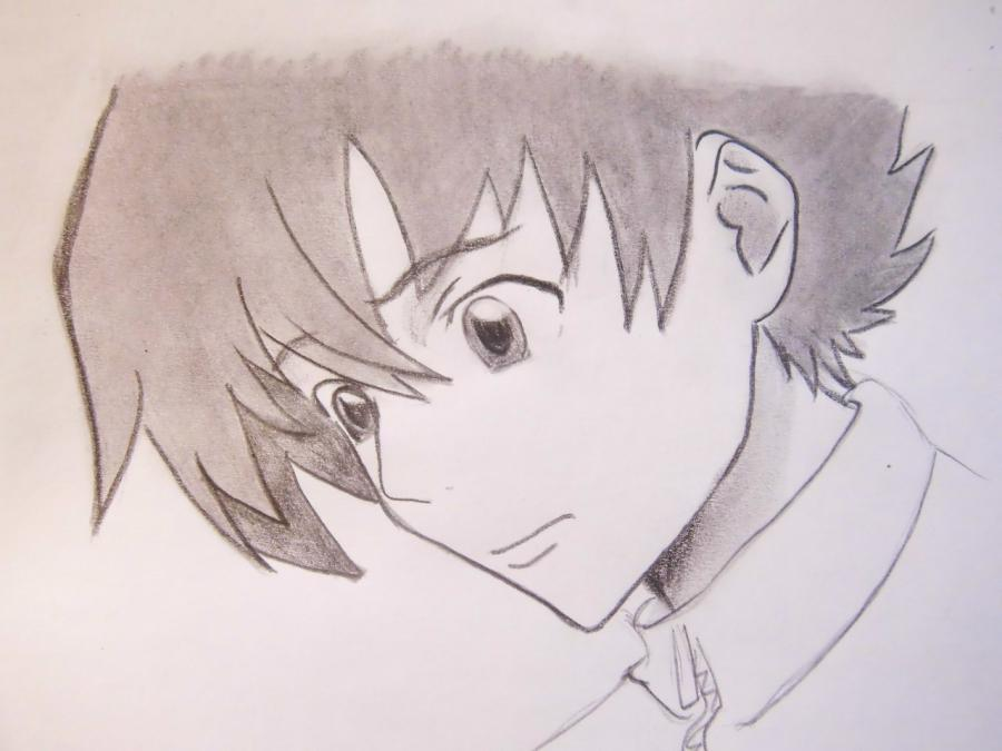 How to draw Kotoko Aikhar's portrait from an anime the Naughty kiss 6