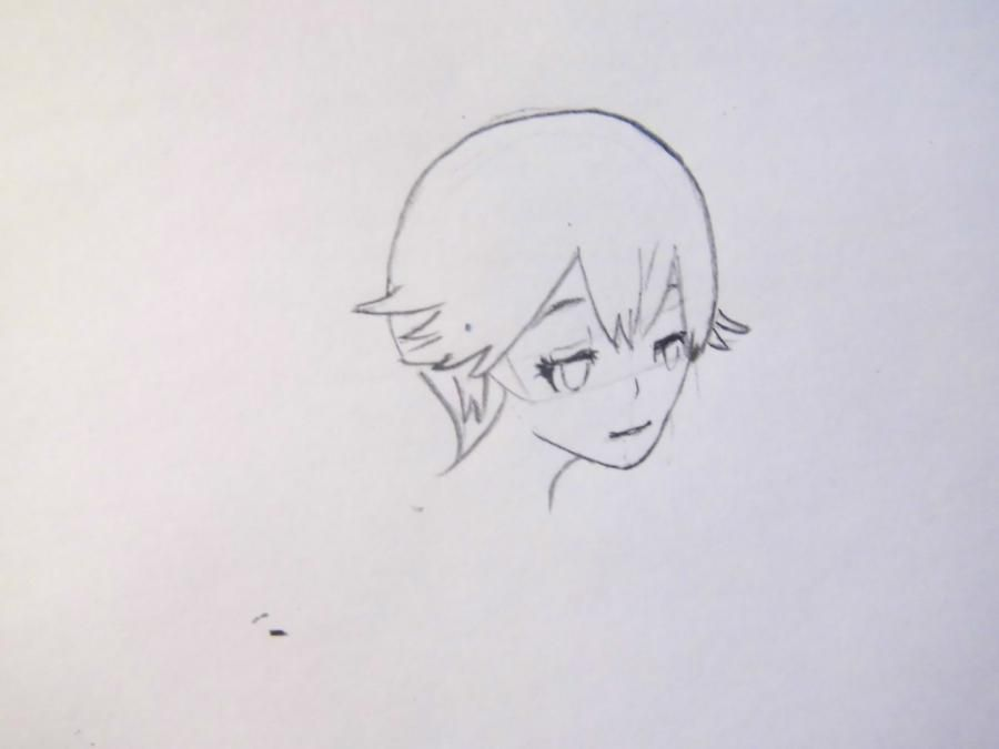 How to draw Armin Arlert from an anime Revolt of titans 2