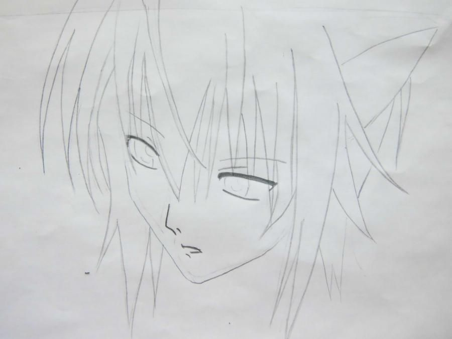 How to draw Takumi Usui from the President of student council - the maid! pencil 4