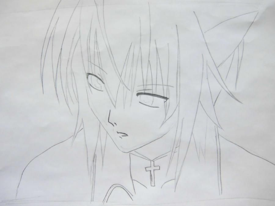 How to draw Takumi Usui from the President of student council - the maid! pencil 5