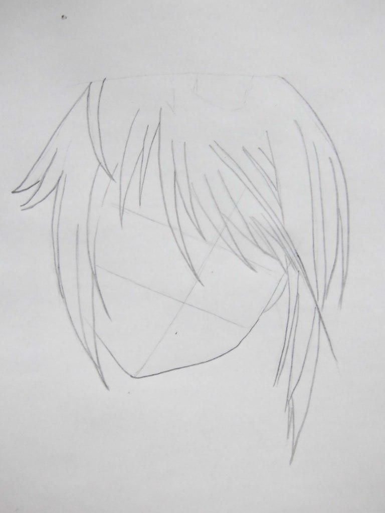 How to draw Misaki Ayudzava from an anime the President of student council  3