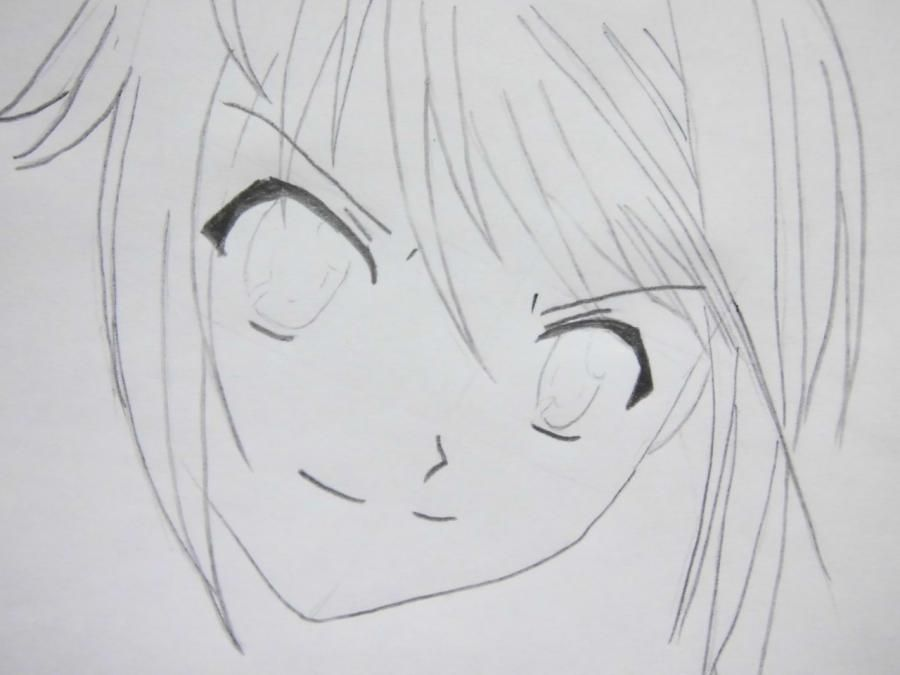 How to draw Misaki Ayudzava from an anime the President of student council  4