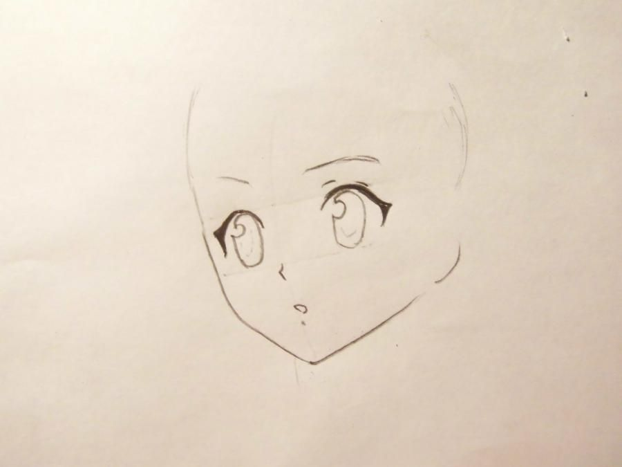 How to draw Gilbert Naytrey from an anime Pandora's Heart with a pencil 3
