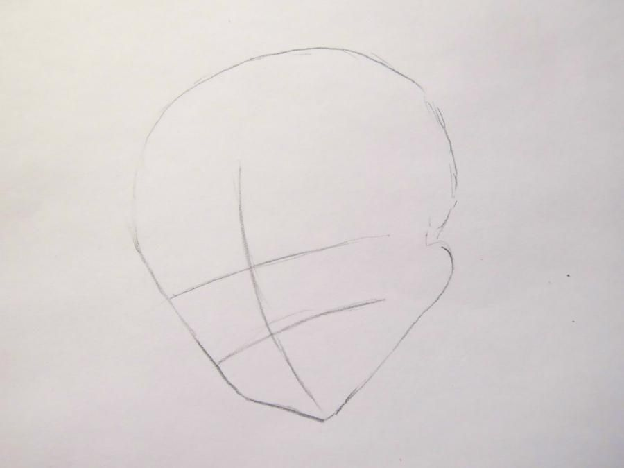 How to draw Zarksis Breyk from an anime Pandora's Heart with a pencil 2