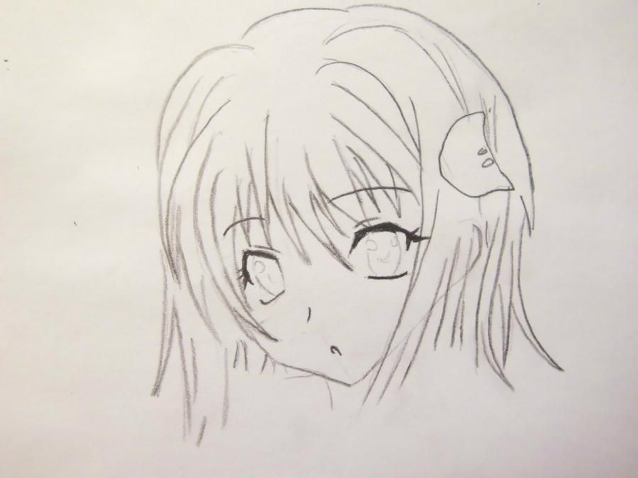 How to draw Zarksis Breyk from an anime Pandora's Heart with a pencil 4