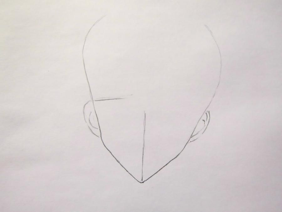How to draw Grell from an anime the Dark butler with a pencil 2