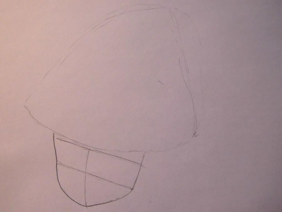 How to draw Mika Hatsune from Vokaloidov with a pencil step by step 2