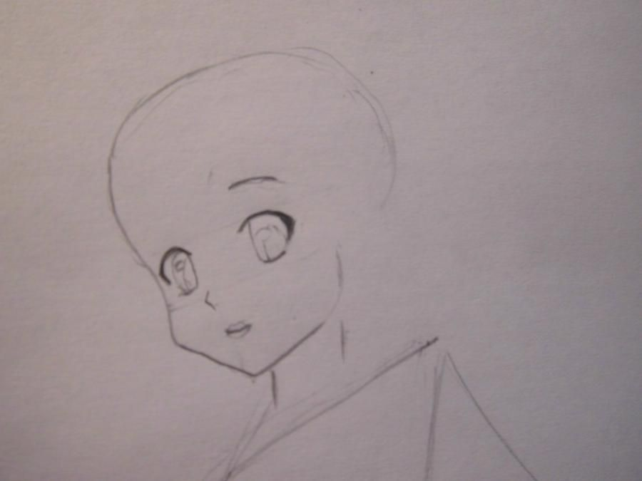 How to draw Ghosn Friks from the Hunter x the hunter with a pencil step by step 3
