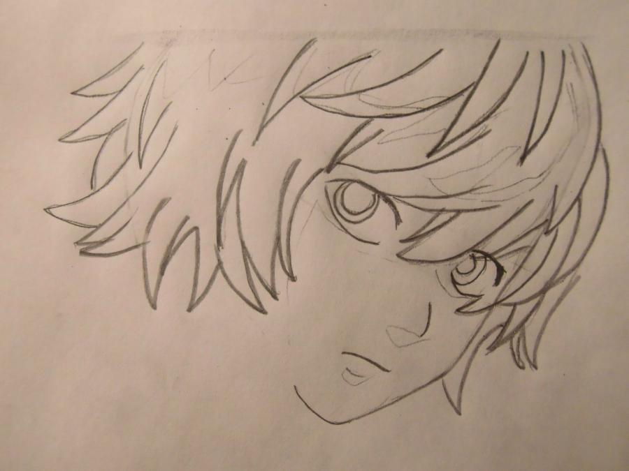 How to draw Asitak from an anime the Princess Mononoke step by step 4