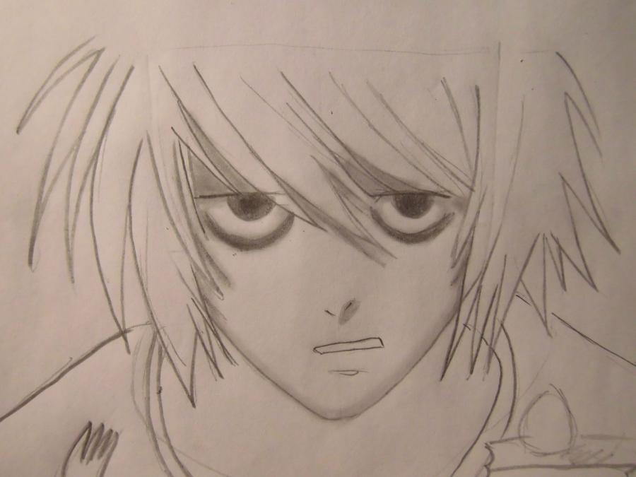 How to draw to Ur Isida from an anime Blich step by step 6