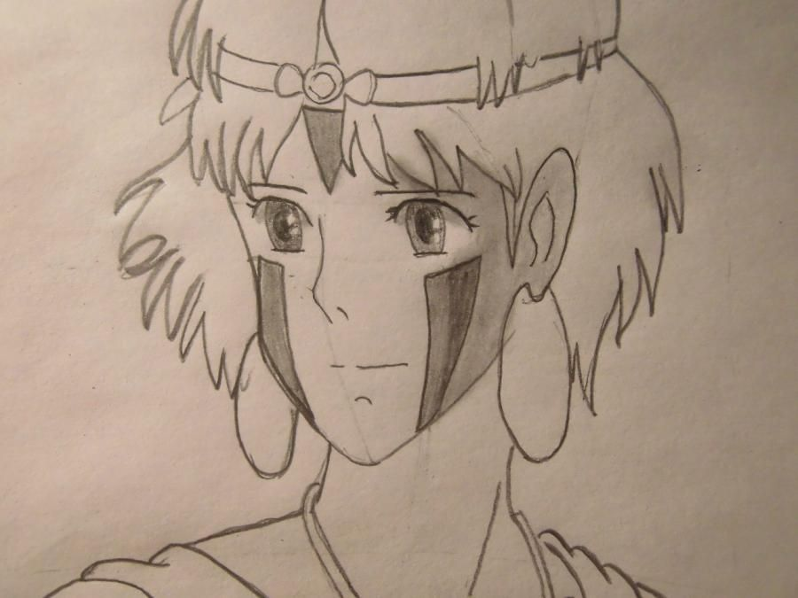 How to draw Orikhim Inoue from Blich with a pencil step by step 7