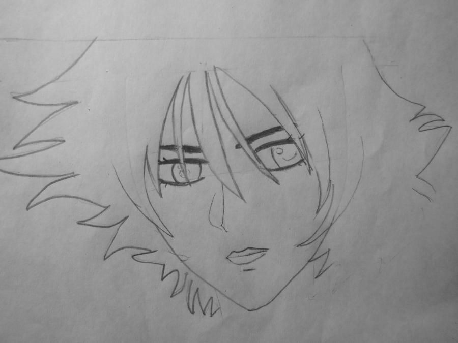 How to draw Ayro from an anime of Avatars with a pencil step by step 4