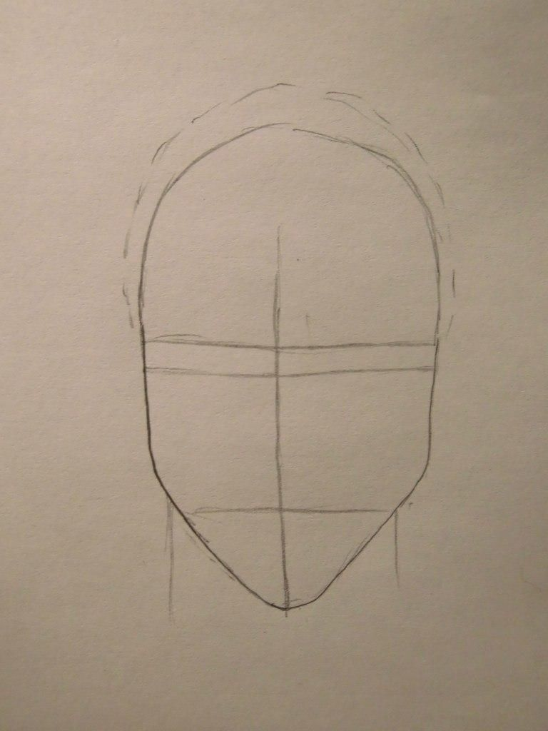 How to draw Sokk from Avatars with a pencil step by step 2