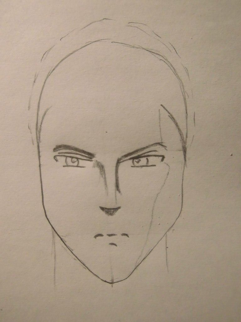 How to draw Sokk from Avatars with a pencil step by step 3