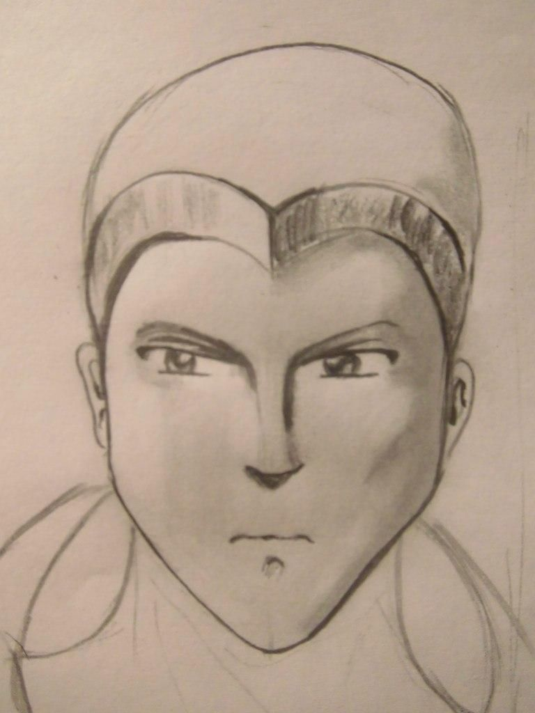 How to draw Sokk from Avatars with a pencil step by step 5