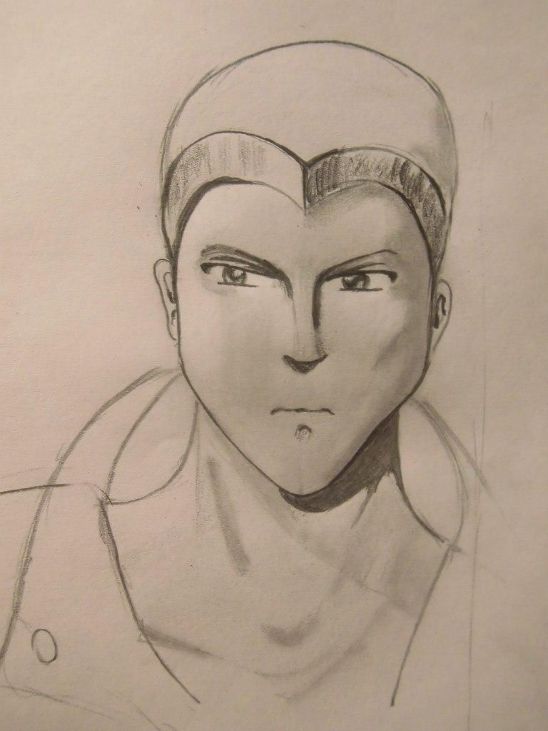 How to draw Sokk from Avatars with a pencil step by step 6