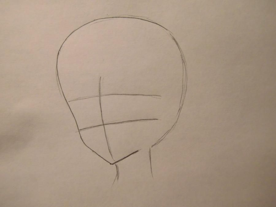 How to draw Lingali Li from Dee. Gray - exchanges by a pencil step by step 2