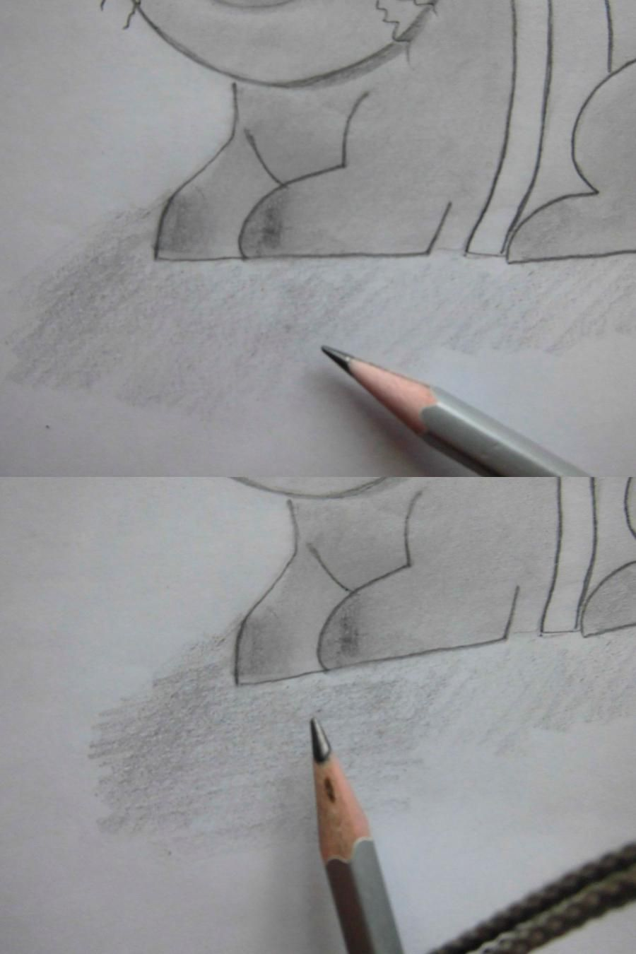 How to draw Gray Fulbaster to the utmost from Fairy Tail 9
