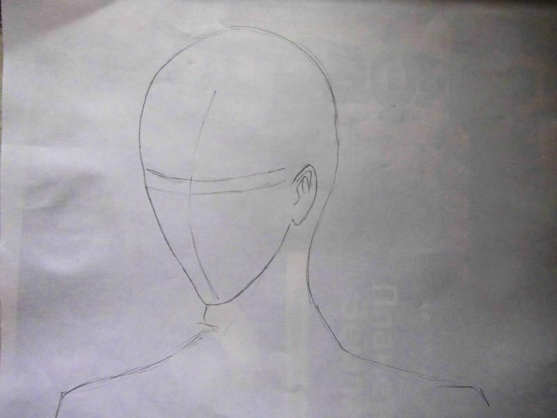How to draw Kazuto Kirigaye from the master throwing online a pencil on papers 2