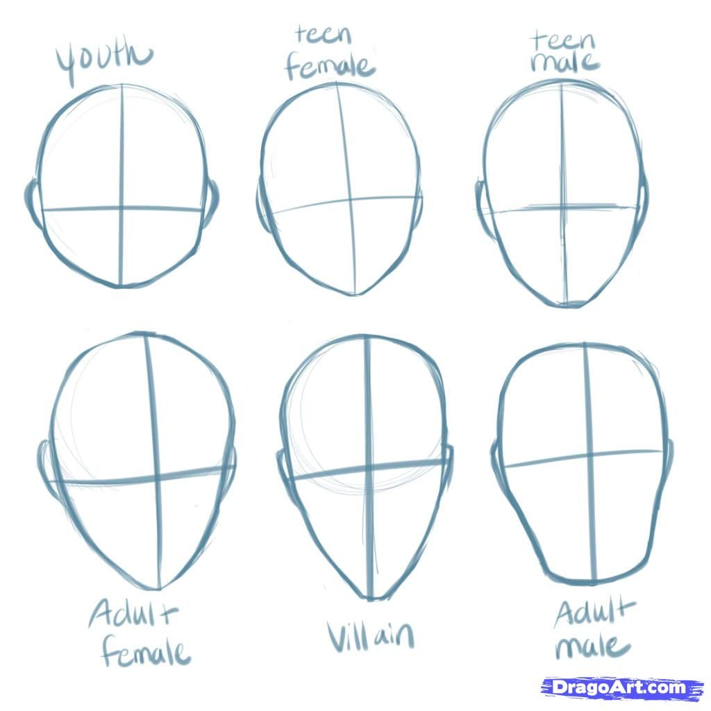 How to draw to Madok Kanama from Puella Magi with a pencil step by step 2