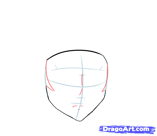 How to draw Toshio Ozaki from Deceased (Shiki) with a pencil step by step 4