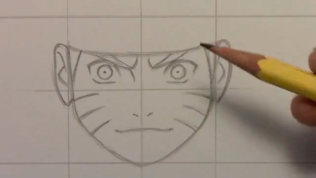How to draw an anime of an angel step by step 4