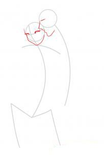 How to draw the Son Gokhan step by step 2