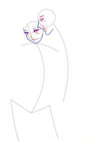 How to draw the Son Gokhan step by step 3