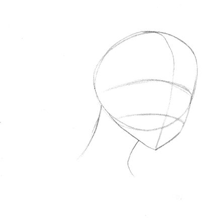 How to draw the demon Fox step by step 2