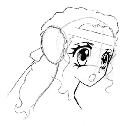 How to draw the demon Fox step by step 4