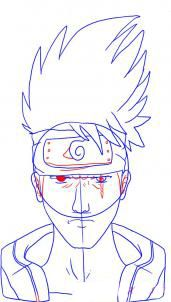 How to draw Gaara from Naruto 5
