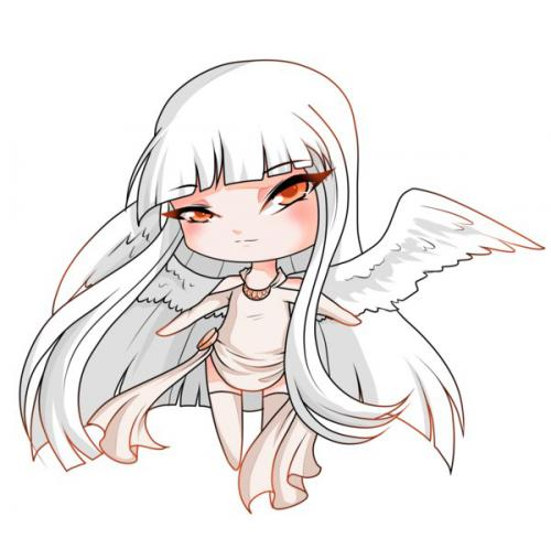 Ausmalbilder Marvel Helden Angel: How To Learn To Draw Chib Of An Angel A Simple Pencil